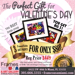 ValentinesDayBritto Picure Frames Deal