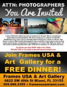 Dinner Invitation Photographers