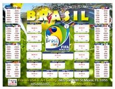 2014 World Cup Brackett