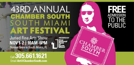 Chamber South Art festival logo 2014