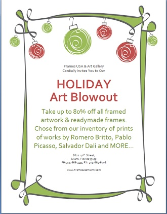 Holiday Blowout Blog