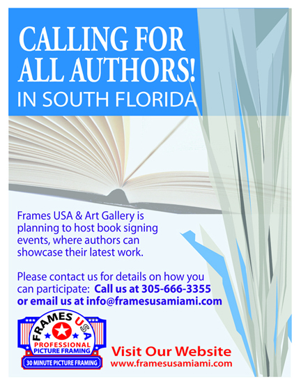 BOOK SIGNING CALL FOR AUTHORS-72 DPI