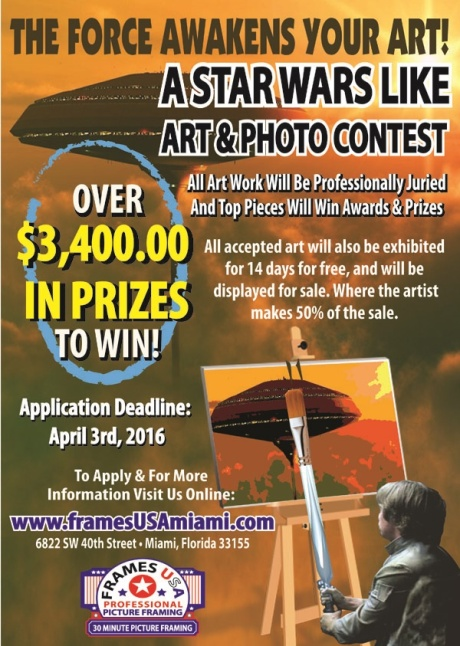 STAR WARS ART CONTEST FLYER FOR WEB