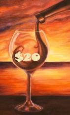 Wine Art $20