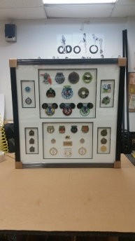 Framed Medals-Badges