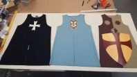 Knight Uniforms Set Up