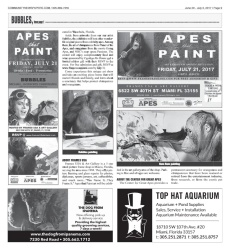 Apes that Paint Front Page Comm News Cont' Page 9